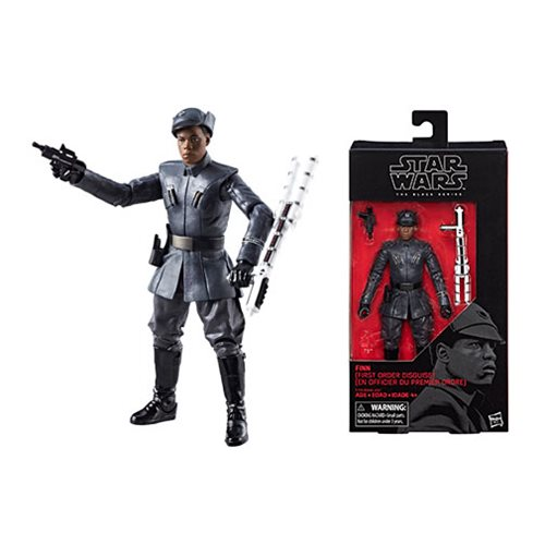 Star Wars The Black Series Finn First Order Disguise 6-Inch Action Figure