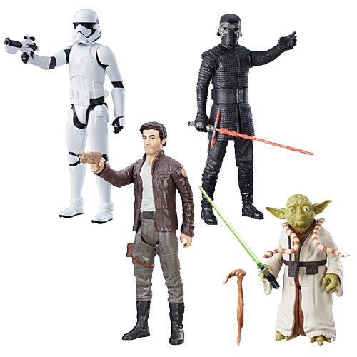 Star Wars: The Last Jedi Hero Series 12-Inch Figures Wave 3