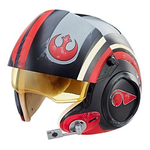 Star Wars The Black Series Poe Dameron X-Wing Pilot Helmet