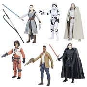 Star Wars: The Last Jedi Orange Action Figures Wave 1 Set
