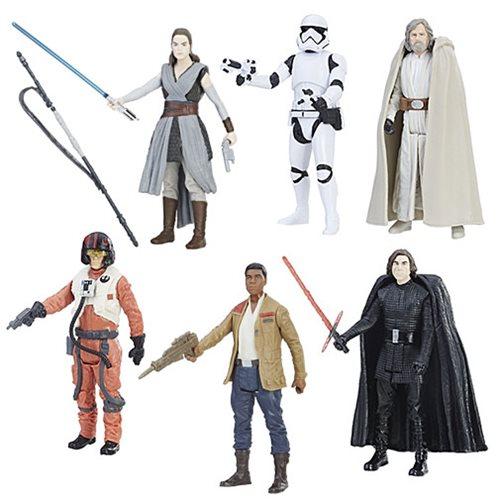 Star Wars: The Last Jedi Orange Action Figures Wave 1 Case