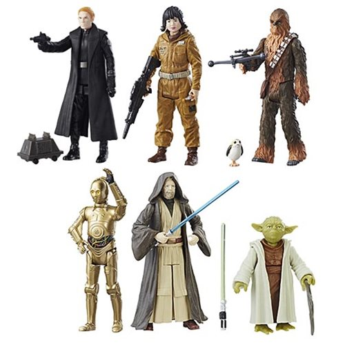 Star Wars: The Last Jedi Teal Action Figures Wave 2 Case