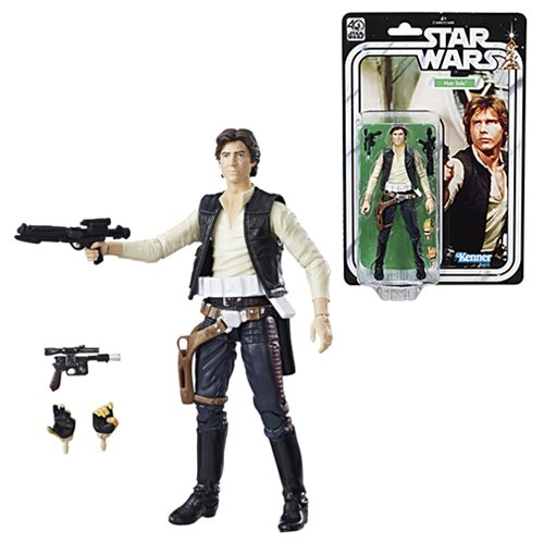 Star Wars Black Series 40th 6-Inch Han Solo Action Figure