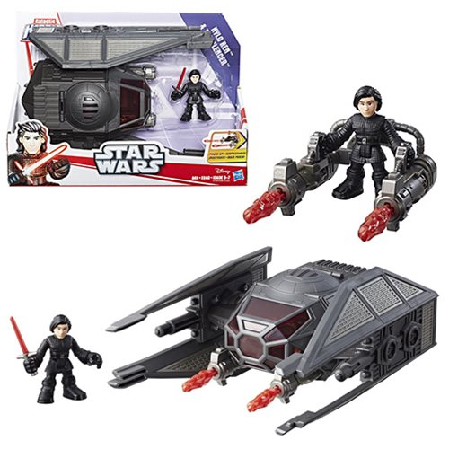 Star Wars Galactic Heroes Kylo Ren and TIE Silencer Vehicle