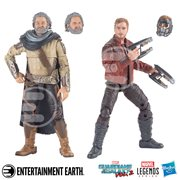 GOTG Vol. 2 Marvel Legends Star-Lord and Ego Action Figures