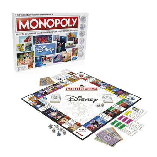 Monopoly Disney Animation Edition Game