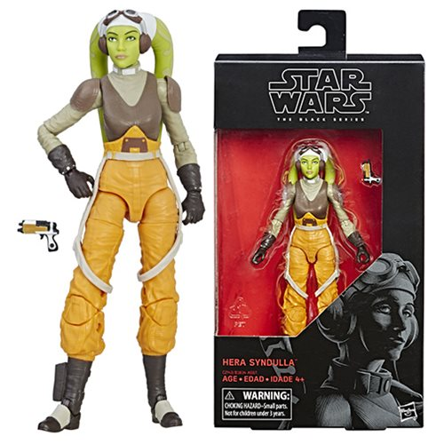 Star Wars Black Series Hera Syndulla 6-Inch Action Figure