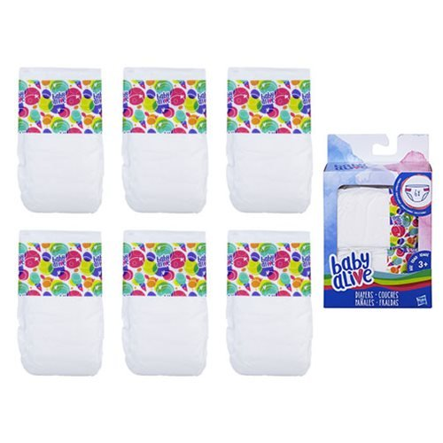 Baby Alive Diapers Refill Pack Ebay