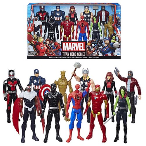 Marvel Titan Hero Series 12-Inch Action Figure 11-Pack