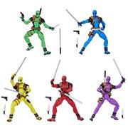 Deadpool Rainbow Squad 3 3/4-Inch Action Figures