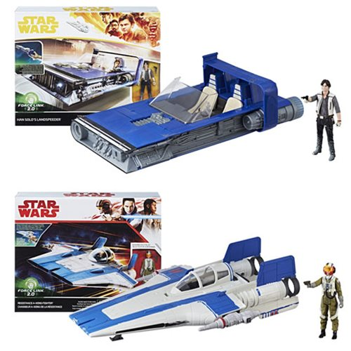 Star War Solo Class B Vehicles Wave 1 Case