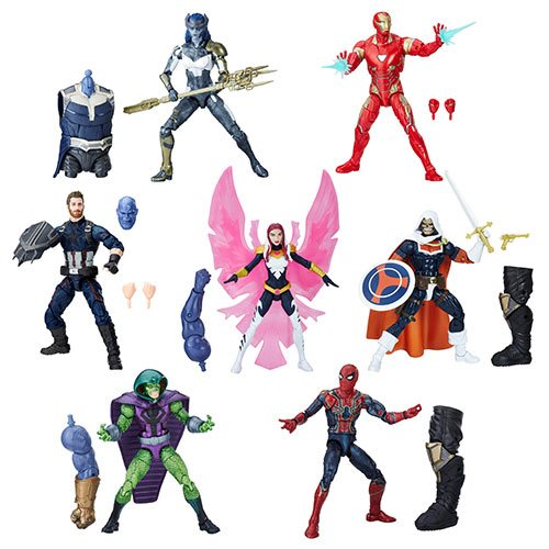 Avengers Marvel Legends 6-Inch Action Figures Wave 1 Case