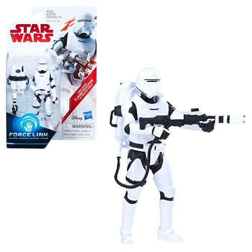 Star Wars: The Last Jedi Flame Trooper 3 3/4-Inch Figure