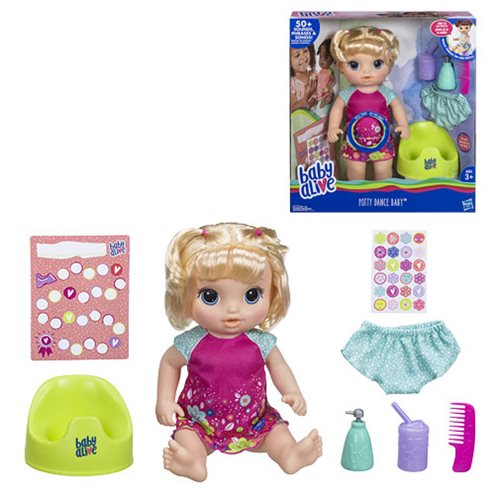 Baby Alive Potty Dance Baby Doll -