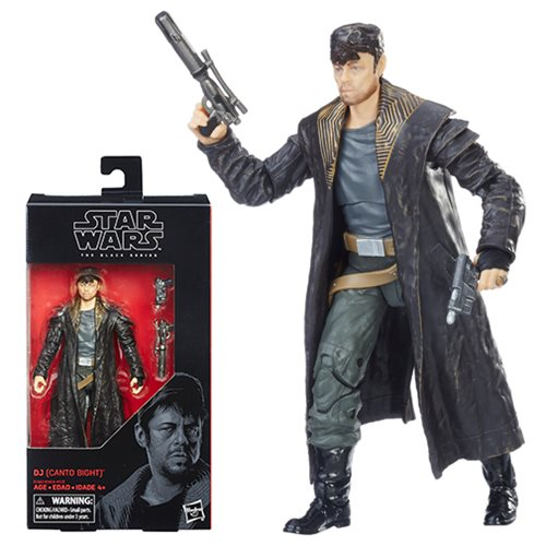 Star Wars Black Series Canto Bight 6-Inch Figure, Not Mint