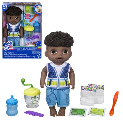 Baby Alive Sweet Spoonfuls African American Baby