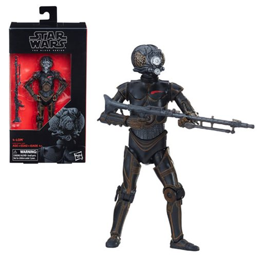 Star Wars The Black Series 4-LOM 6-Inch Action Figure