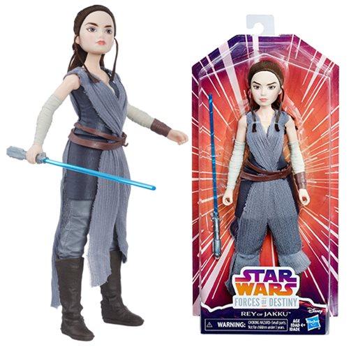 Star Wars Forces of Destiny Rey Basic Adventure Doll