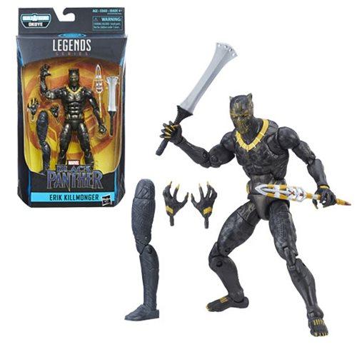 Black Panther Marvel Legends Erik Killmonger Action Figure