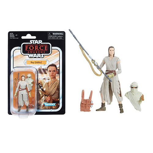 Star Wars The Vintage Collection Rey Action Figure
