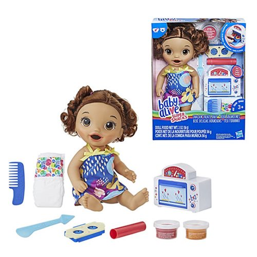 Baby Alive Snackin' Treats Baby Doll -