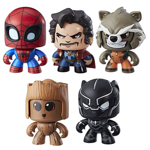 Marvel Mighty Muggs Action Figures Wave 2 Case