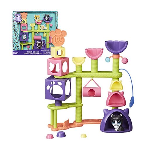 Littlest Pet Shop Cat Hideaway Playset