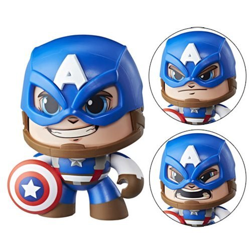 Marvel Mighty Muggs Captain America Action Figure
