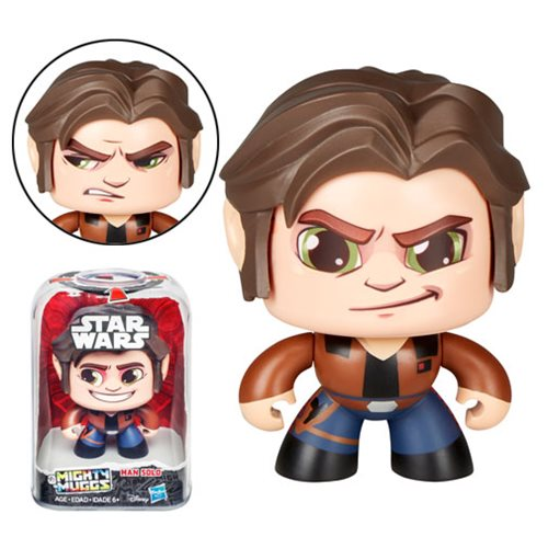 Star Wars Mighty Muggs Han Solo Action Figure