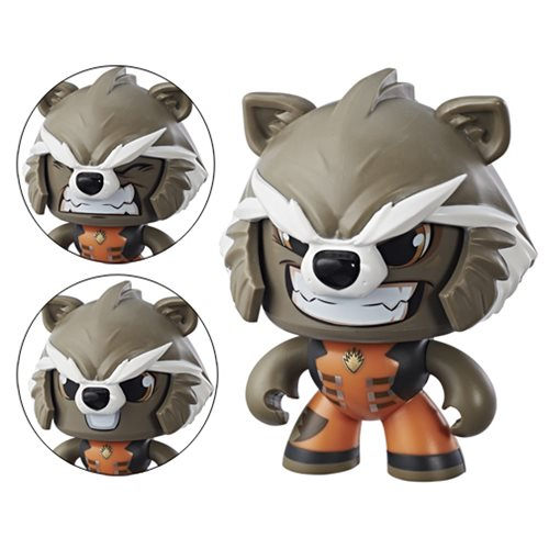 Marvel Mighty Muggs Rocket Raccoon Action Figure