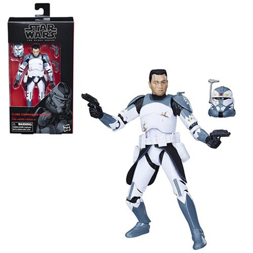 Star Wars Black Series Commander Wolffe 6-Inch Action Figure