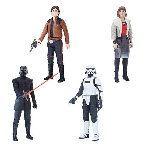 Star Wars Solo Titan Hero 12-Inch Action Figures Wave 1 Set