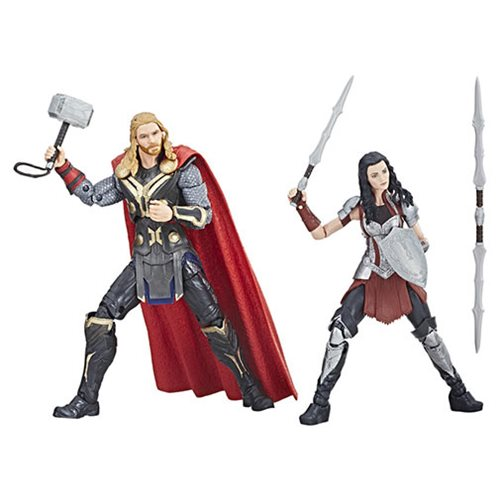 Marvel Legends MCU 10th Thor and Sif 6-Inch Action Figures