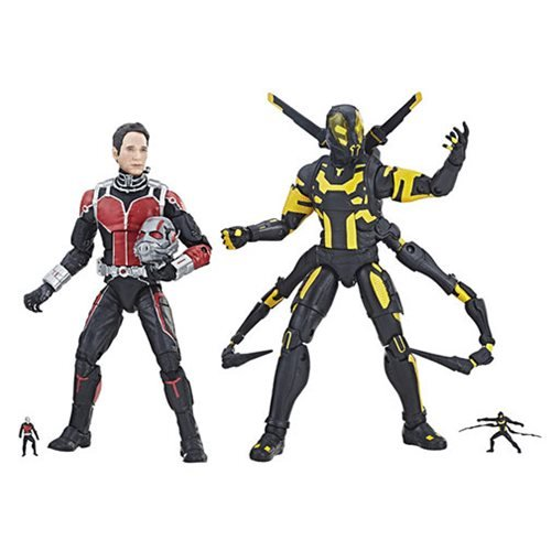 Marvel Legends MCU 10th Ant-Man Yellowjacket 6-Inch Figures
