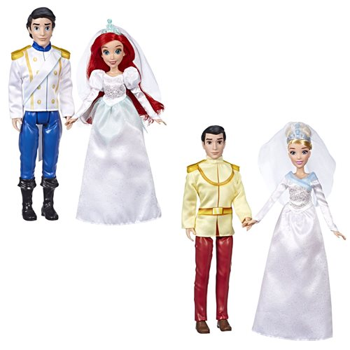 Disney Princess Wedding Doll Sets Wave 1 Set