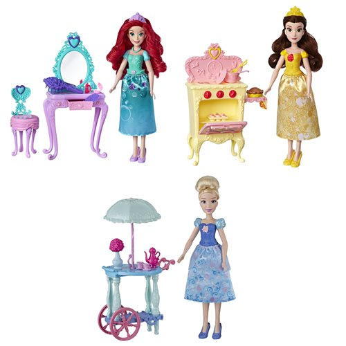 Disney Princess Doll with Mini Environment Wave 1 Case