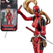 Deadpool Marvel Legends 6-Inch Lady Deadpool Action Figure