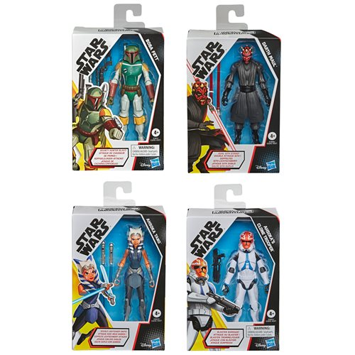 Star Wars Galaxy of Adventures 5-Inch Figures Wave 6 Set