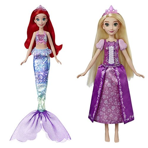 Disney Princess Singing Dolls Wave 1 Ariel & Rapunzel Set