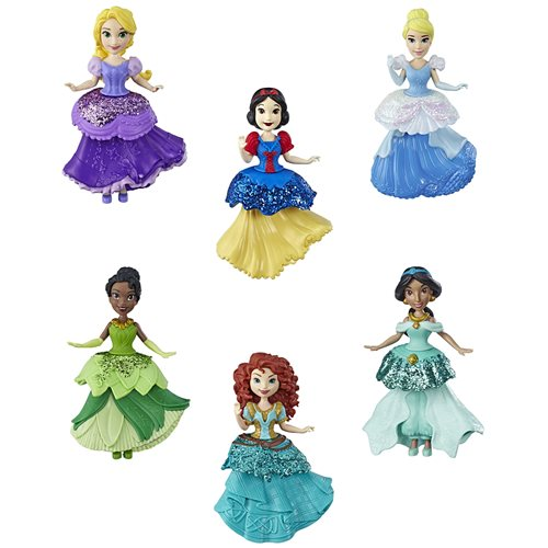 Disney Princess Small Doll Clips Wave 4 Case