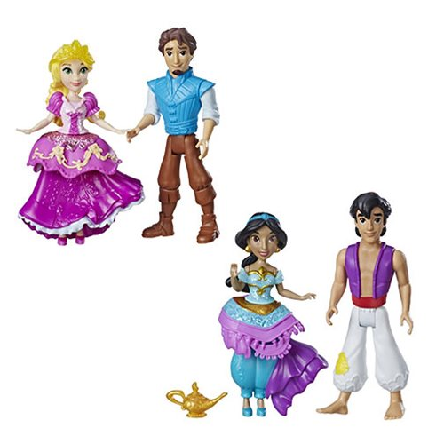 Disney Princess and Prince Small Dolls Wave 1 Set