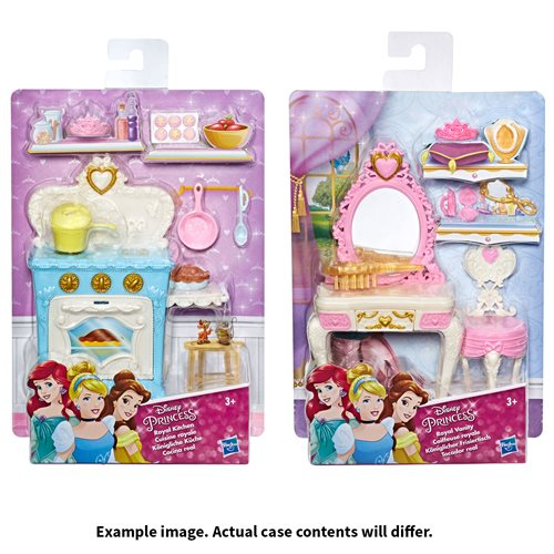 Disney Princess Mini Environment Playsets Wave 2 Case