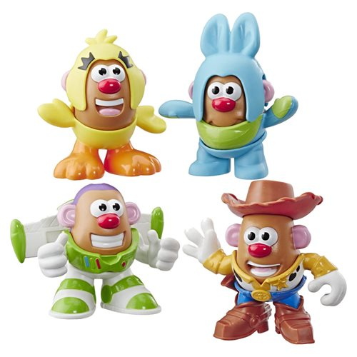 Toy Story Mr. Potato Head Mini 4 Pack