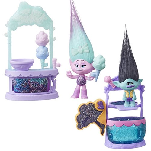 Trolls Small Doll Story Packs Wave 1 Set