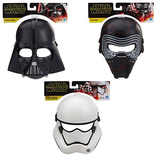 Star Wars: The Rise of Skywalker Masks Wave 1 Set