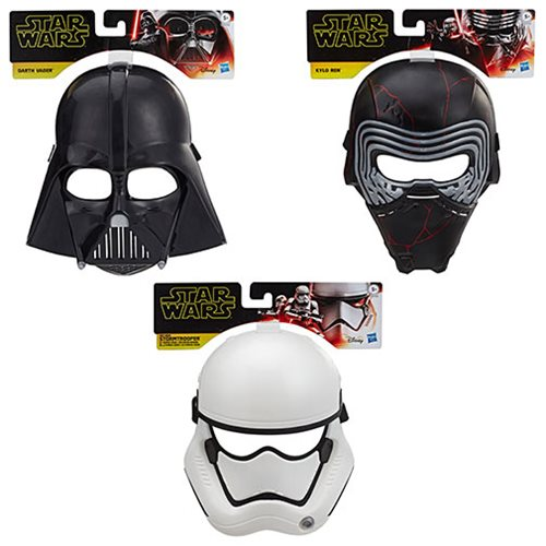 Star Wars: The Rise of Skywalker Masks Wave 1 Case
