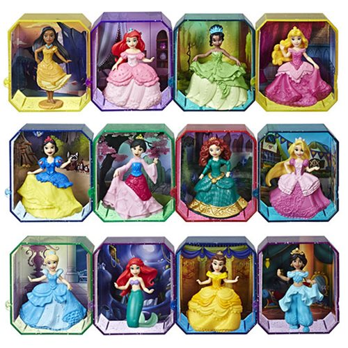 Disney Princess Gem Collection Figures Series 1 Case