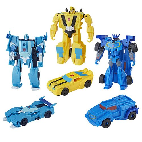 Transformers Cyberverse One Step Changers Wave 1 Set