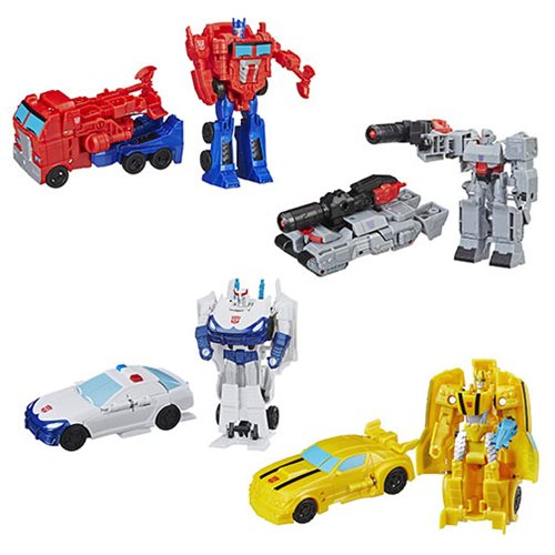 Transformers Cyberverse One Step Changers Wave 3 Set