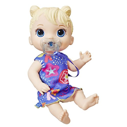 Baby Alive Baby Lil Sounds Interactive Blonde Hair Baby Doll